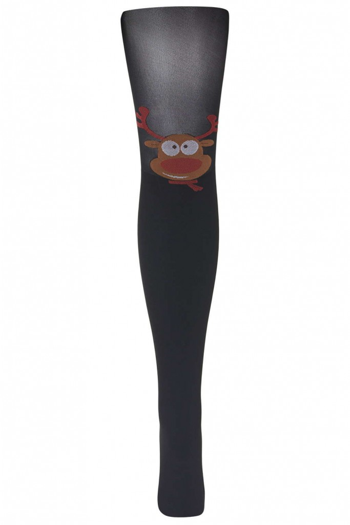 Pretty Polly Reindeer Tights By Pretty Polly     Price: £8.00 click to visit Topshop
