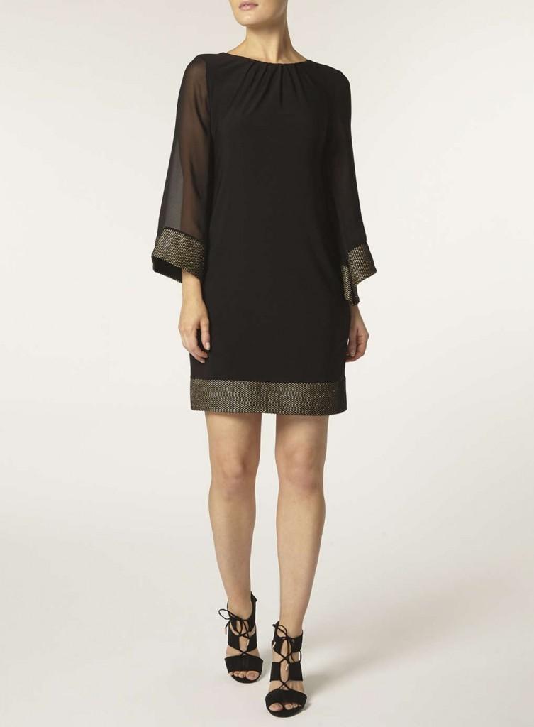 **Billie & Blossom Black kimono Sleeve Dress     Was £32.00     Now £24.00 Click to visit Dorothy Perkins