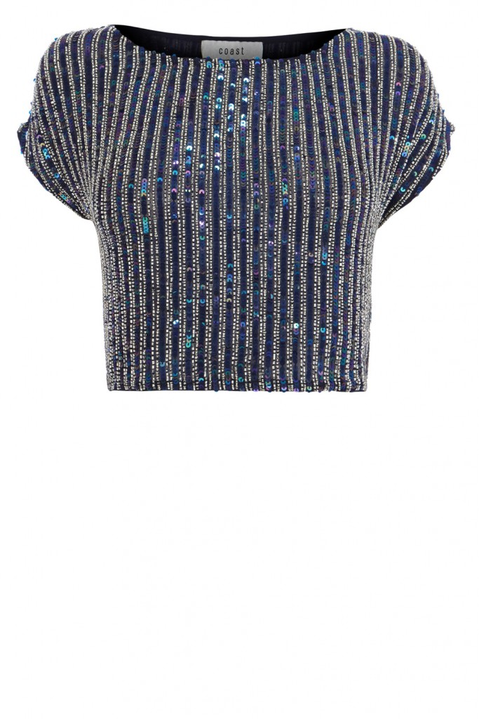 BELLA MARIE EMBELLISHED TOP £119.00 click to visit Coast
