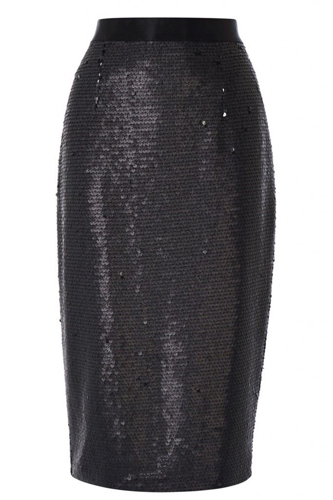 ASHLYNNE SEQUIN SKIRT £89.00 click to visit Coast