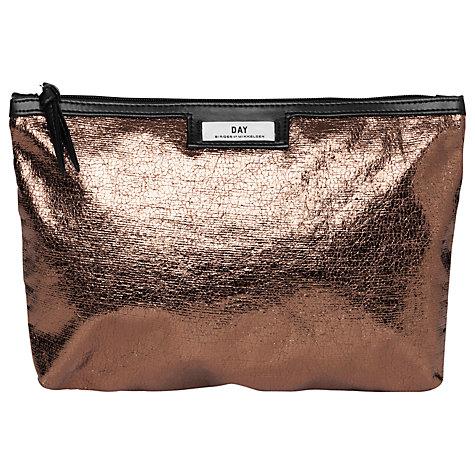Et DAY Birger et Mikkelsen Gweneth Small Clutch Bag, Metallic £25 click to visit John Lewis