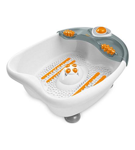 MEDISANA Foot spray bath wet and dry massager     £39.99 click to visit Selfridges