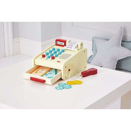 George Home Wooden Till Toy £10.00 click to visit George at Asda