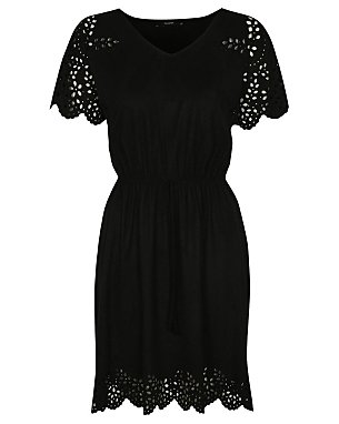 Floral Cut-out Dress £20.00 Click to visit George at Asda