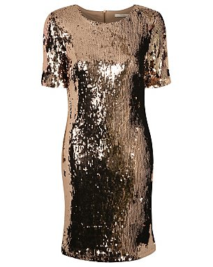 Sequined Dress £25.00 Click to visit George at Asda