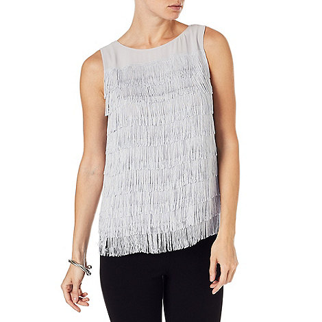Cici Fringe Top Sale £45.00 click to visit Phase Eight