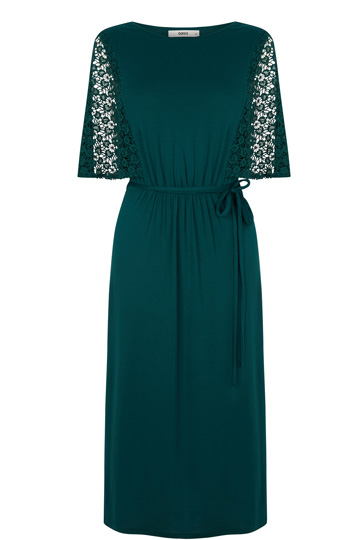 Lace Sleeve Victoriana Midi Dress Was: £45.00Now: £15.00 click to visit Oasis