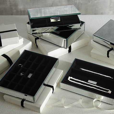 Stackers Glass Jewellery Boxes from £22-£30 Click to visit John Lewis