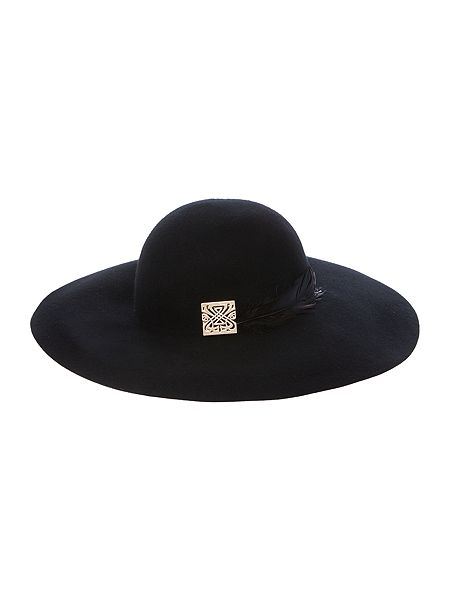Biba Feather Detail Floppy Hat £50 Click to visit House Of Fraser