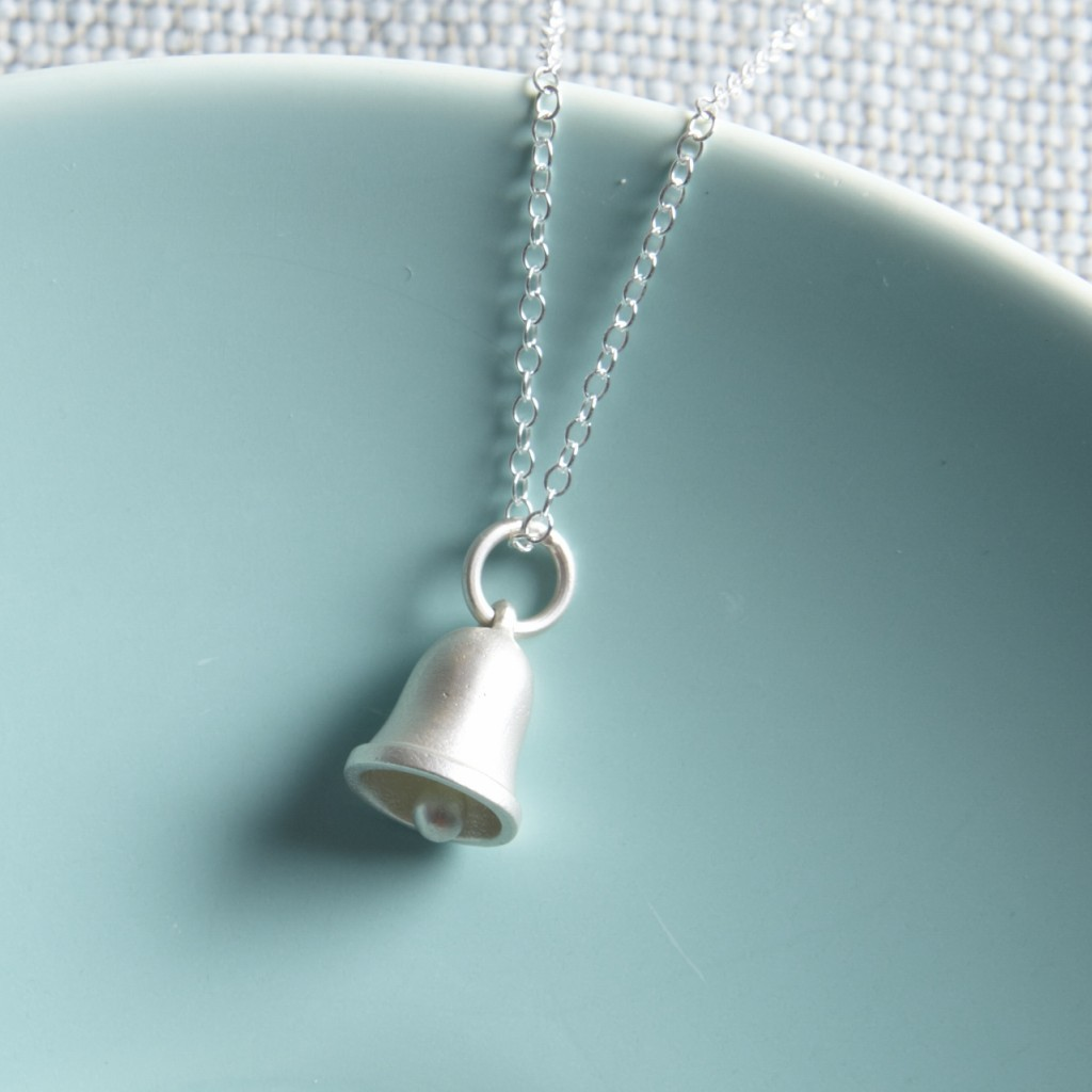 Jingle Bell Necklace £32 click to Lily Charmed