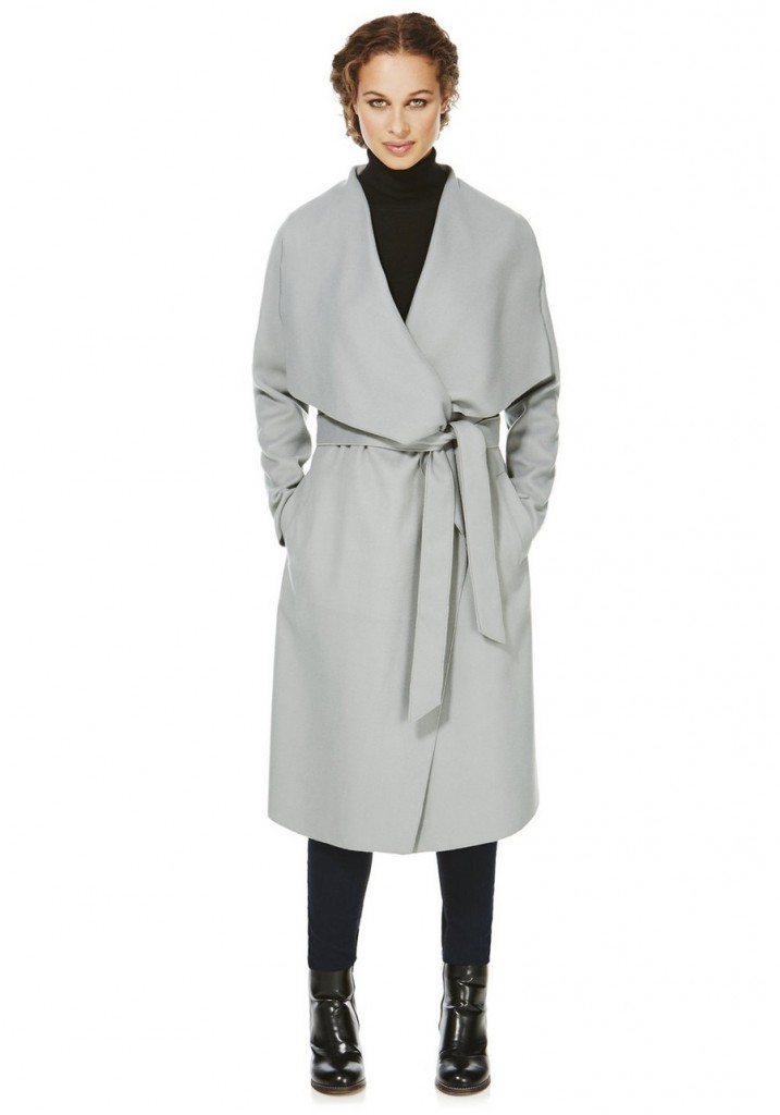 F&F Unlined Waterfall Coat with Belt £29 click to visit F7F Clothing