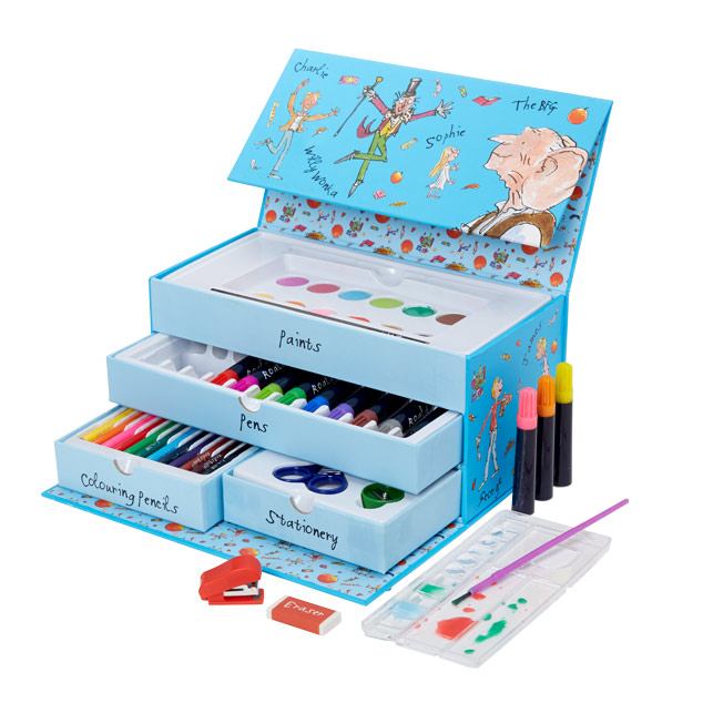 Roald Dahl Art Set - NEW! £15 click to visit Moonpig