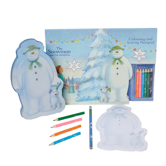 Snowman Stationery Set - NEW! £12  Click to visit Moonpig