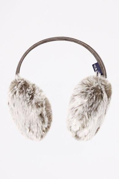 LONGNOR FAUX FUR EAR MUFFS £19.50 Click to visit Jack Wills