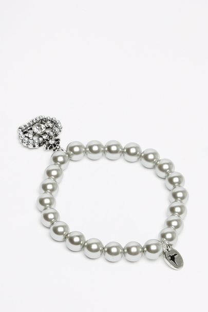 ARIANA PEARL/CHARM BRACELET 100009678001 £7.50 Click to visit Jack Wills