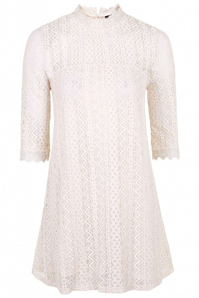Lace Swing Dress     Price: £39.00 Click to visit Topshop