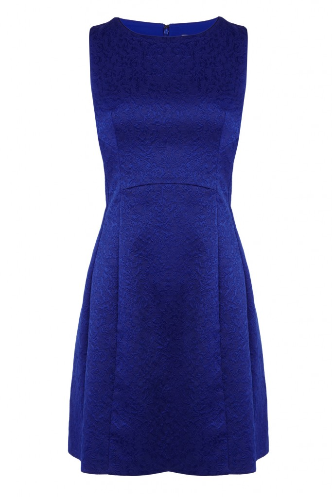 BETSIE JACQUARD DRESS Now£49.00Was£95.00 Click to visit Coast