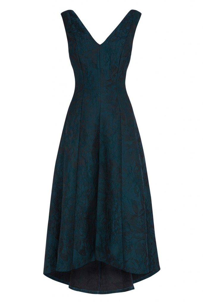 ARIA JACQUARD HIGH LOW DRESS £250.00 Click to visit Coast