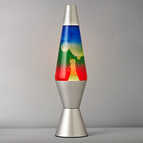 Rainbow Lava Lamp £25 Click to visit John Lewis