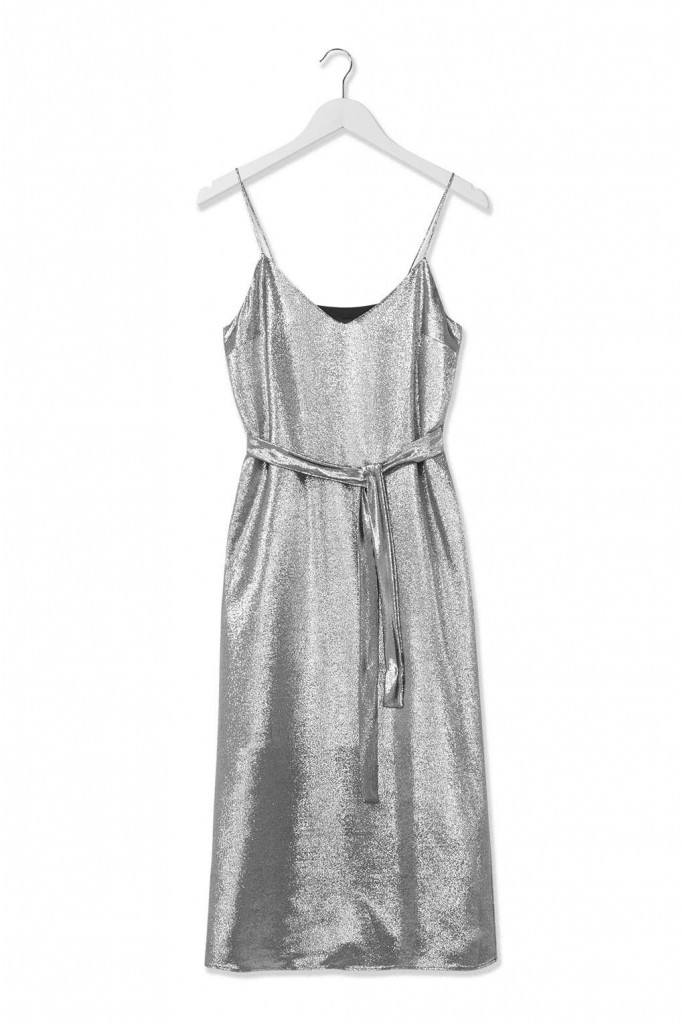 Lamé Slip Dress by Boutique     Price: £125.00 Click to visit Topshop