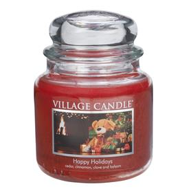 Happy Holiday - Medium Jar Candle - By Village Candle £12.99 Click to visit Chessington Garden Centre