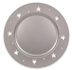 Plate with Star Design - Silver £4.99 Click to visit Chessington Garden Centre