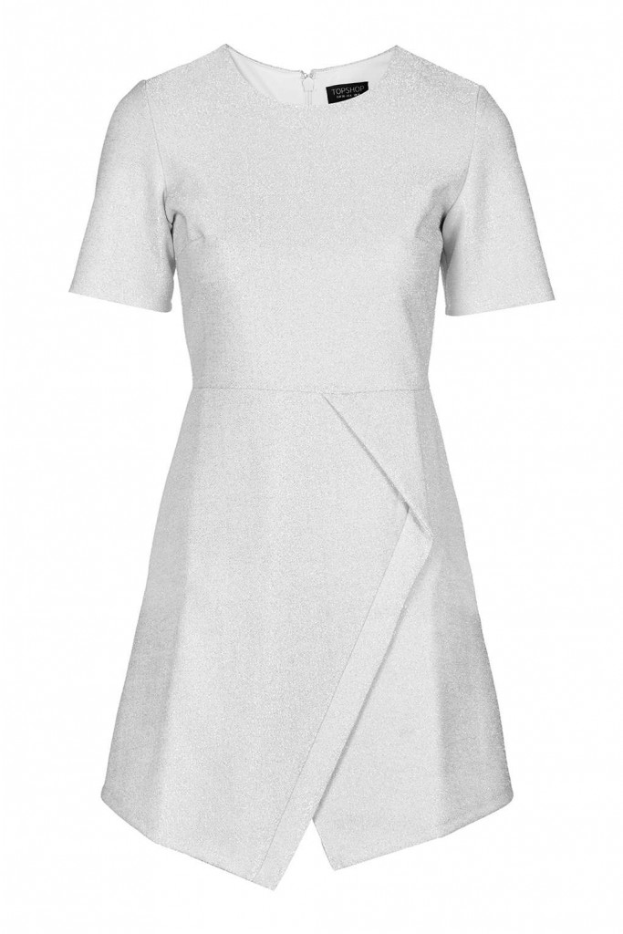 Tinsel Wrap A-Line Dress     Price: £49.00 Click to visit Topshop