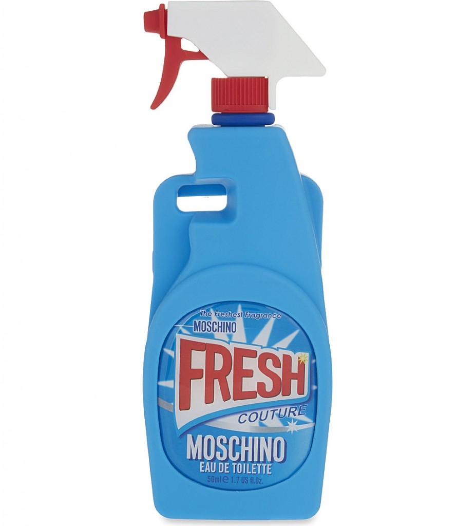 MOSCHINO Spray bottle iPhone 6 case £55.00 Click to visit Selfridges