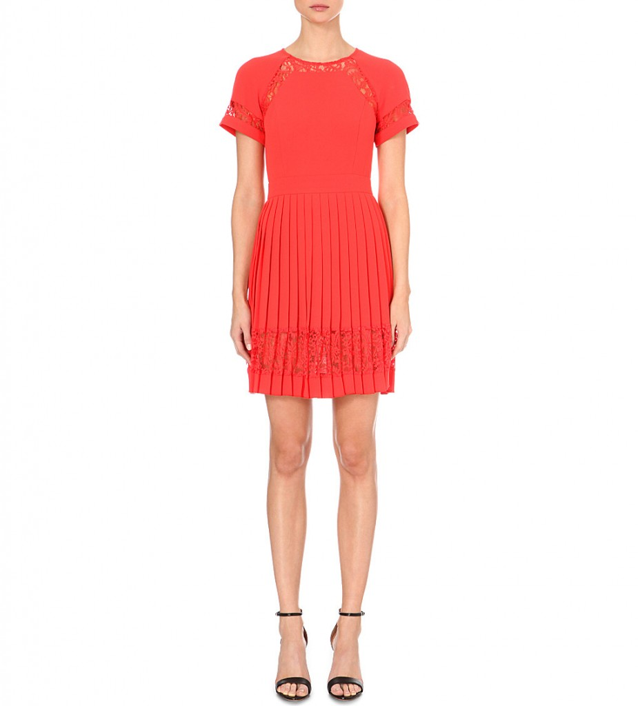 FRENCH CONNECTION Arrow pleated dress     £120.00     £60.00 Click to visit Selfridges
