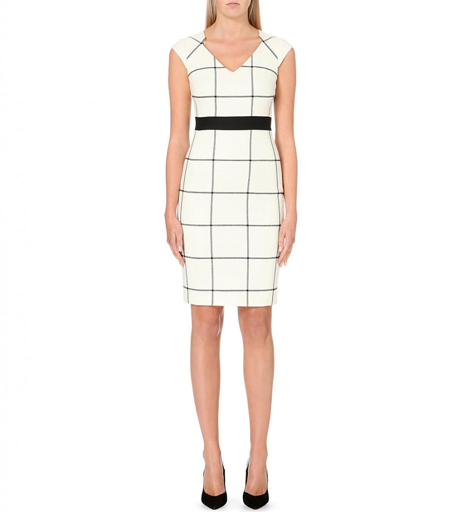 KAREN MILLEN Checked jersey dress     £160.00     £110.00 Click to visit Selfridges