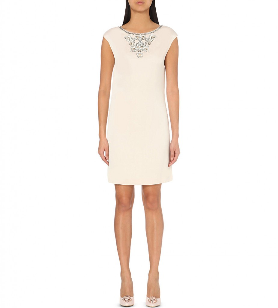 TED BAKER Viktria embellished satin dress     £199.00     £100.00 Click to visit Selfridges