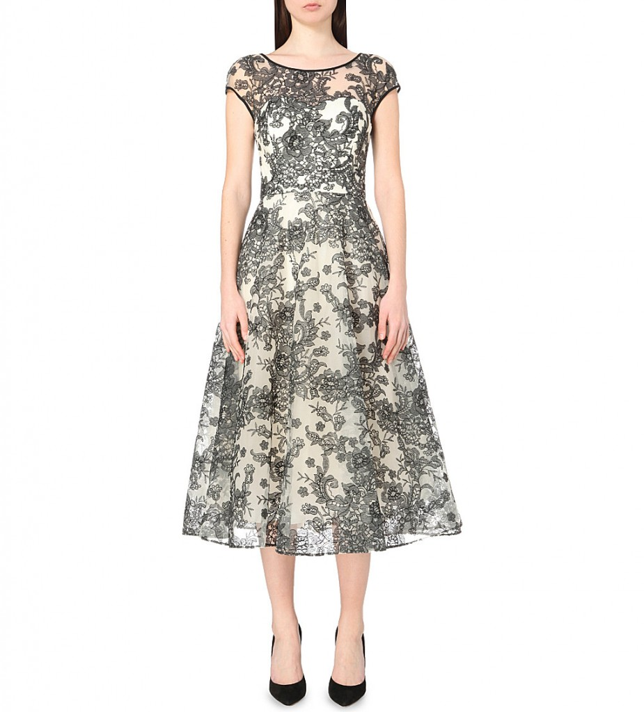 TED BAKER Ballerina floral-lace dress     £499.00     £299.00 Click to visit Selfridges