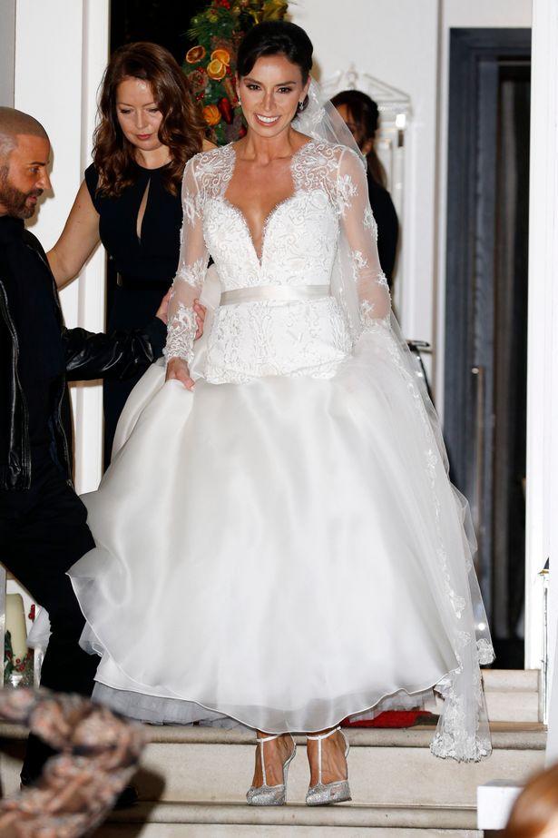 Christine Bleakley Wedding Shoes