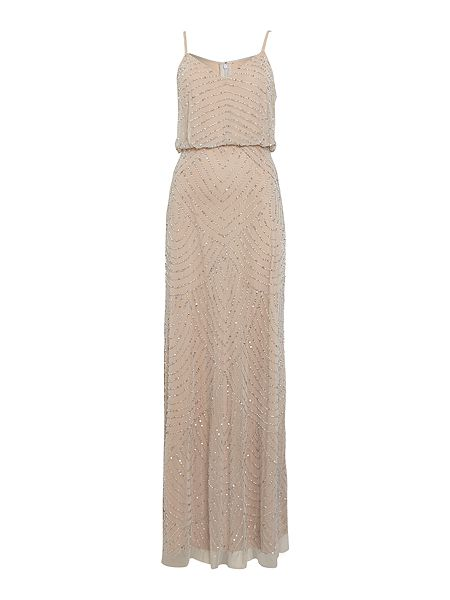 Adrianna Papell Art deco beaded dress £240 Click to visit House of Fraser