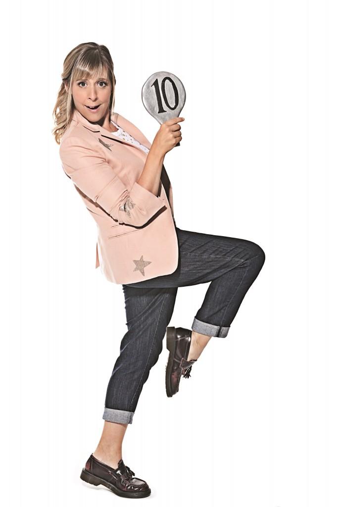 Mel Geidroyc dance lunge