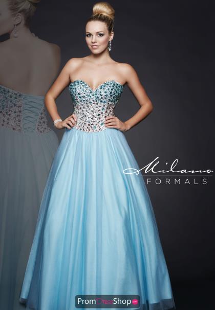 promdressshop.com, Milano Formals Dress E1715, $258