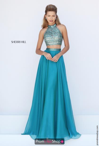 (promdressshop.com, Sherri Hill Dress 50096, $318