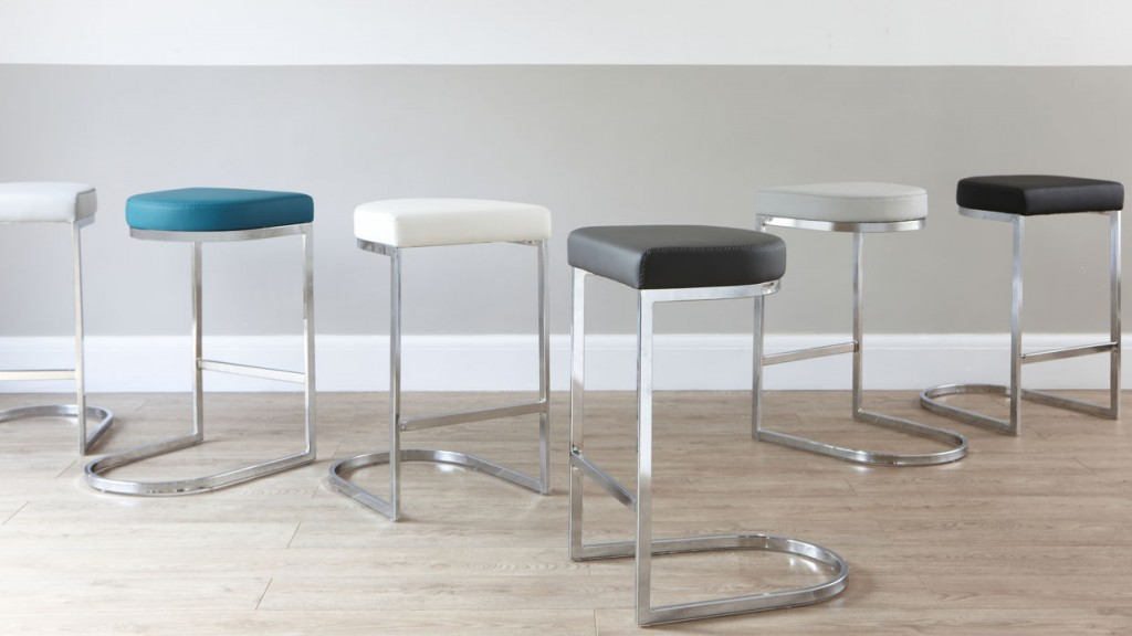 Form Chrome Bar stool £99 Click to visit Danetti