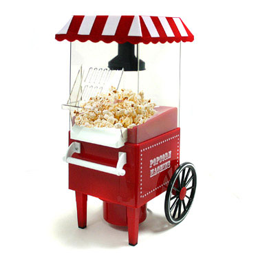 Fairground Popcorn Machine £29.95 Click to visit Gizoo