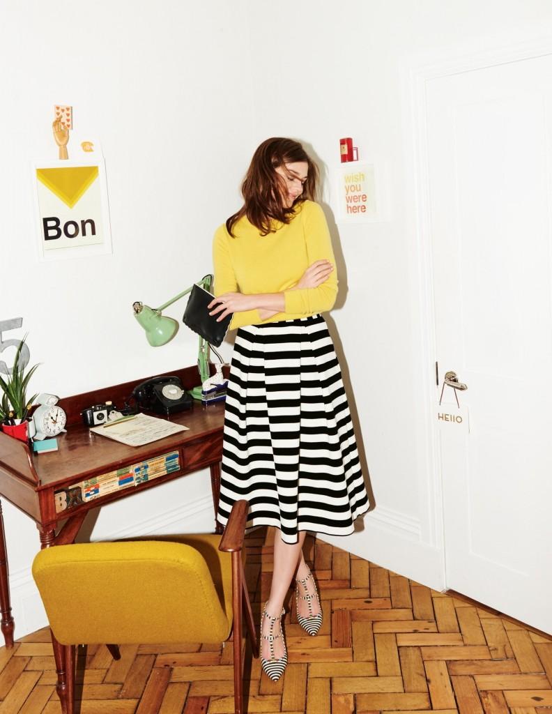 Maggie Ottoman Midi Skirt WG648 £69.50 Click to visit Boden
