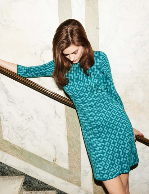 Jacquard Knitted Tunic Dress WW005 £99.50 Click to visit Boden