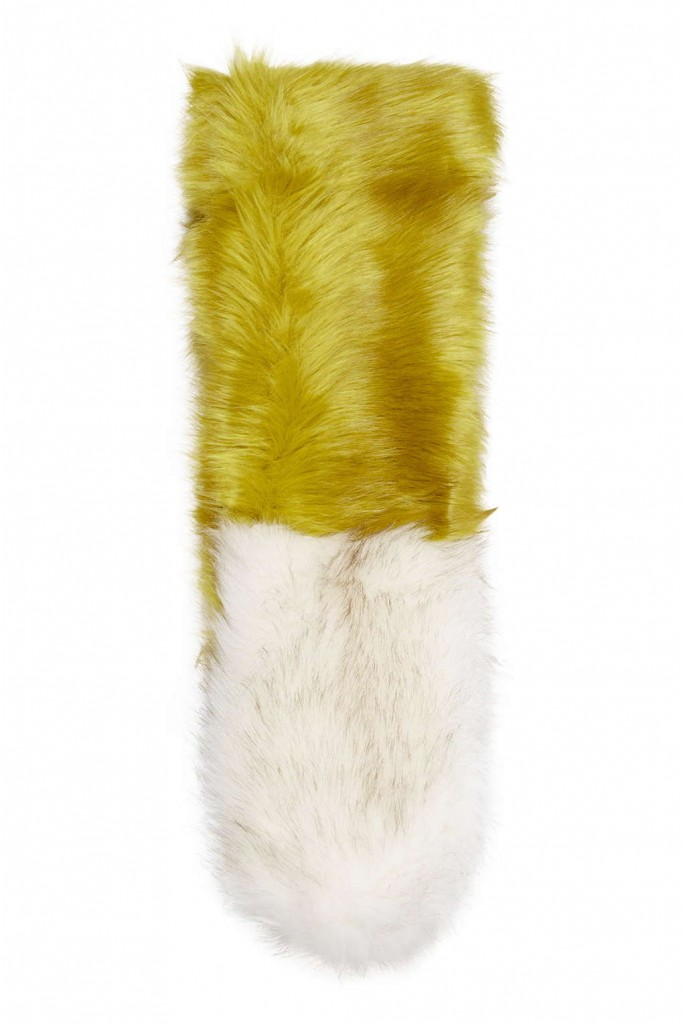 Colourblock Faux Fur Stole     Was £32.00     Now £18.00 Click to visit Debenhams