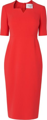Sam Tailored Red Dress £225 Click to visit LK Bennett