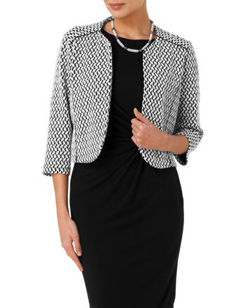 Carley Textured Jacket Sale £48.00 Click to visit Phase Eight