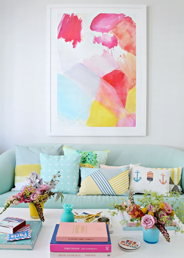 Posters and prints for low cost wall decorating ideas Low cost wall decor
