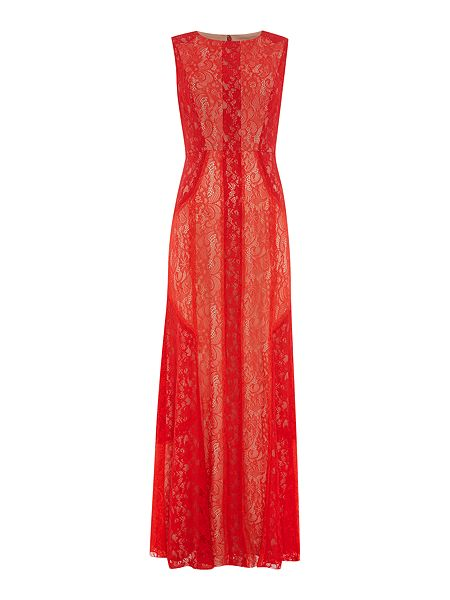 Biba Lace maxi dress now £50 Click to visit House of Fraser