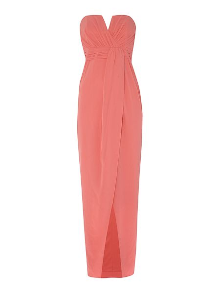 tfnc Sweetheart Bandeau Maxi Dress now £16.50 click to visit House of Fraser