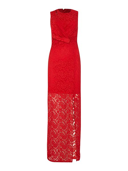 Studio 75 Sleeveless Lace Gathered Waist Maxi Dress now £19.50 Click to visit House of Fraser