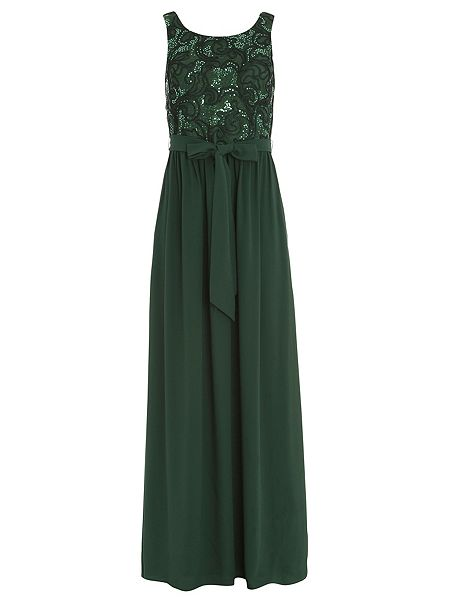 Badgley Mischka Sequined Lace Cami Gown with Georgette S now £09.50 Click to visit House of Fraser