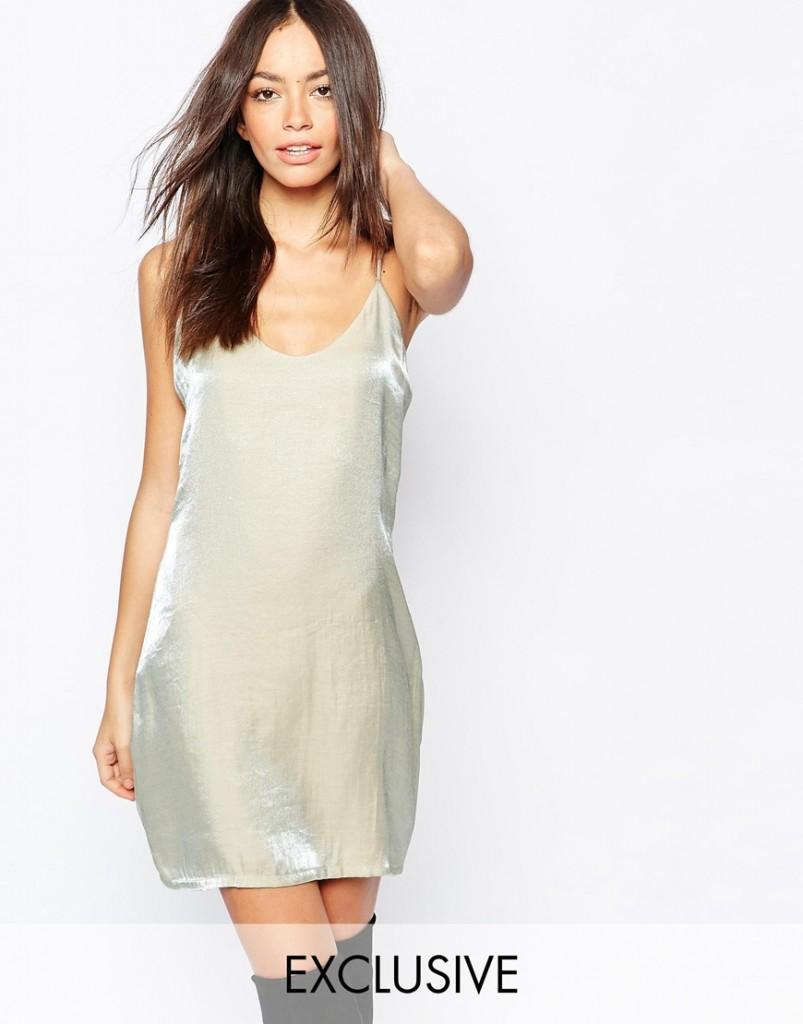 Goldie Satin Slinky Cami Dress now £25.00 Click to visit ASOS